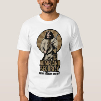 Homeland Security Customizable T-Shirt