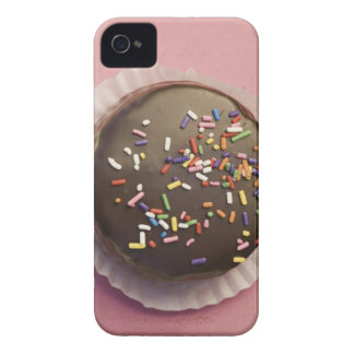 Homemade chocolate dessert with sprinkles iPhone 4 Case-Mate case