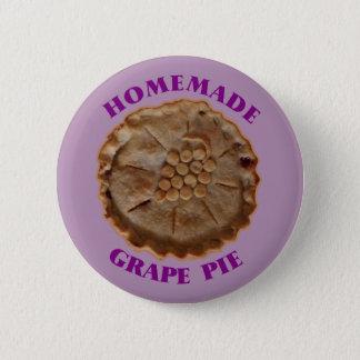 Homemade Grape Pie 6 Cm Round Badge