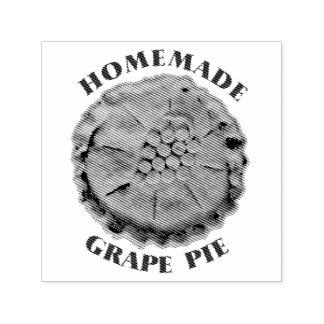 Homemade Grape Pie Self-inking Stamp