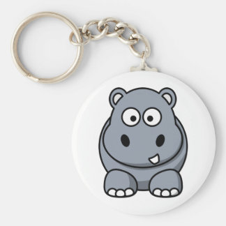 Homer the Huge Hippo Key Ring