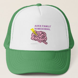 homeschool logo trucker hat