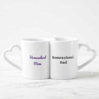 Homeschool Mom & Dad mugs