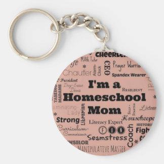 Homeschool Mom Key Ring