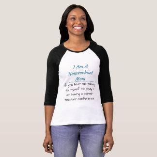 Homeschool Mom Raglan T-Shirt
