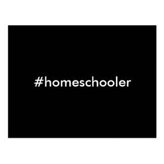 #homeschooler postcard