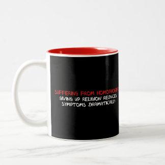Homophobia Cure Two-Tone Mug