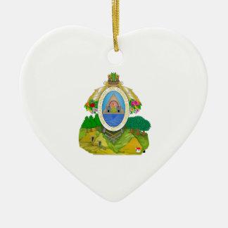 Honduras Coat of Arms Christmas Ornament
