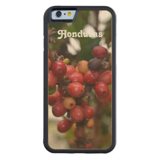 Honduras Coffee Beans Carved Maple iPhone 6 Bumper Case
