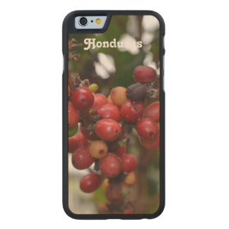 Honduras Coffee Beans Carved Maple iPhone 6 Case