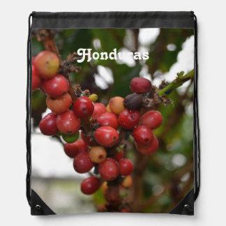 Honduras Coffee Beans Drawstring Bag