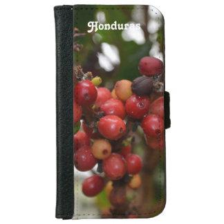 Honduras Coffee Beans iPhone 6 Wallet Case