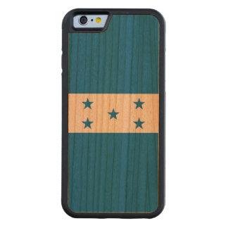 Honduras Flag Carved Cherry iPhone 6 Bumper Case