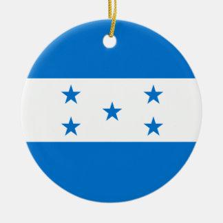 Honduras Flag Christmas Ornament