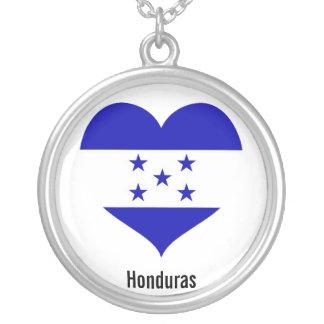 Honduras heart necklace