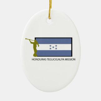 HONDURAS TEGUCIGALPA MISSION LDS CTR CHRISTMAS ORNAMENT