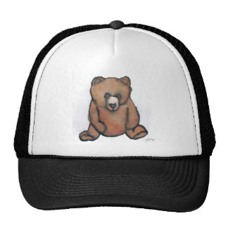 Honey Bear Thinking - CricketDiane Designer Stuff Cap