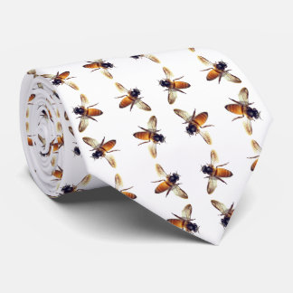 Honey Bee pattern Tie