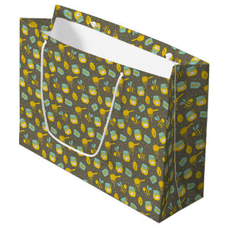 Honey Dipper Beekeeper Business Large Gift Bag