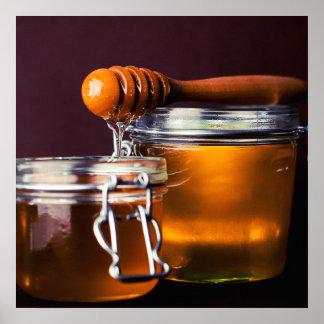 Honey / Foodie kitchen poster