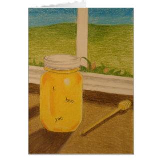 Honey Sweet Words Card
