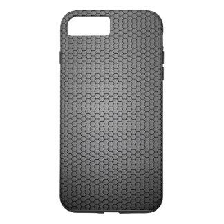 Honeycomb Carbon Fibre texture iPhone 8 Plus/7 Plus Case