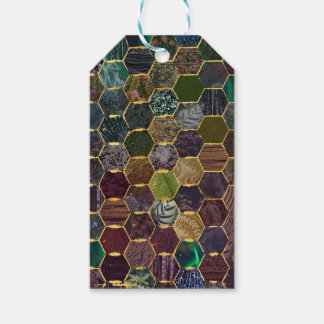 honeycomb mermaid scales gift tags