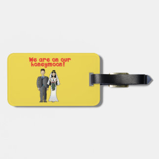 Honeymoon Luggage Tag