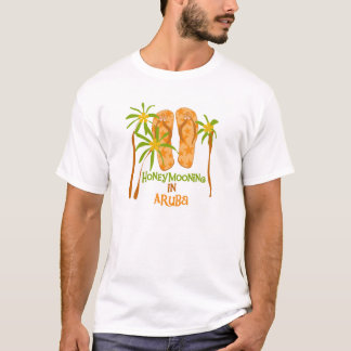 Honeymooning in Aruba T-shirt