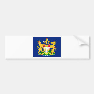 Hong Kong Autonomy Movement Flag Bumper Sticker