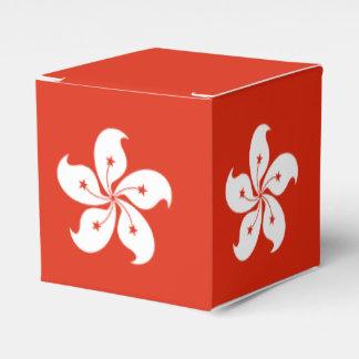 Hong Kong Flag Favour Box