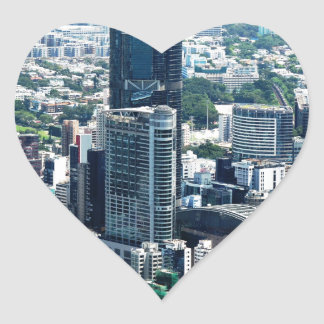 Hong Kong Heart Sticker