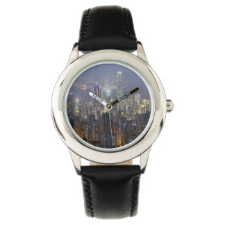 Hong Kong Night Skyline from Victoria Peak Watches