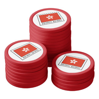 Hong Kong Poker Chips