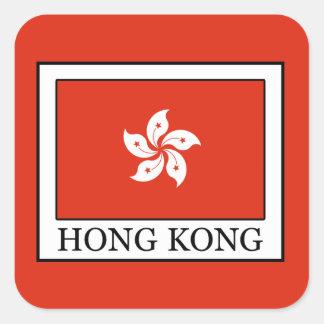 Hong Kong Square Sticker