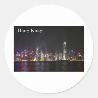 Hong Kong (St.K) Classic Round Sticker