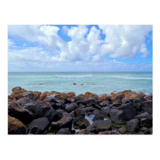 Honolulu Beaches Postcard