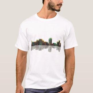 Honolulu Hawaii Skyline T-Shirt