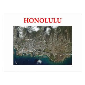 honolulu postcard