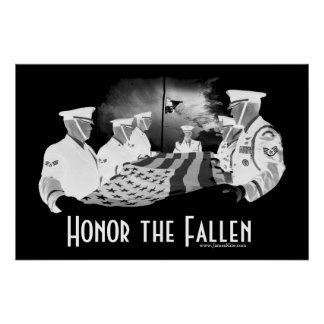 Honor the Fallen Poster