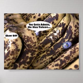 Honorable Mention Award bananaLisa Poster