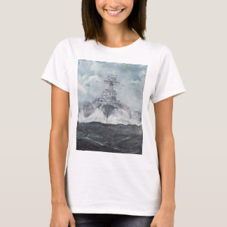 Hood heads for Bismarck 23rdMay 1941. 2014 T-Shirt