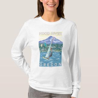 Hood River, ORWind Surfers & Kite Boarders T-Shirt