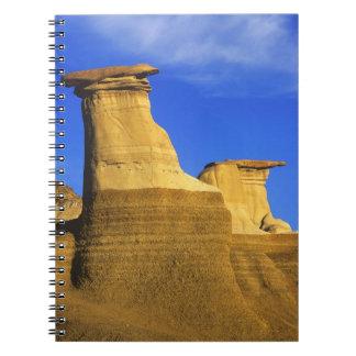 Hoodoos at Drumheller Alberta, Canada 2 Notebook