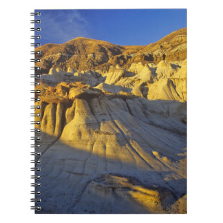 Hoodoos at Drumheller Alberta, Canada Notebook