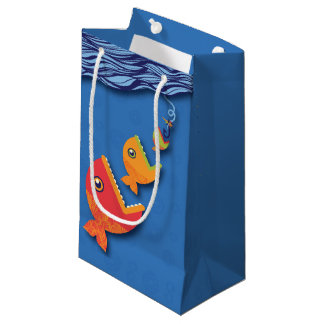Hook, Line & Stinker Small Gift Bag