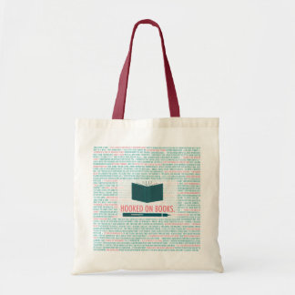 Hooked on Books Tote! Tote Bag