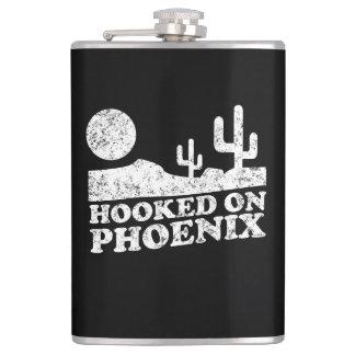 Hooked on Phoenix Hip Flask