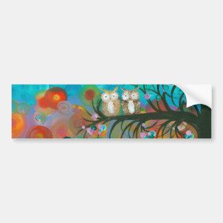 Hoolandia (c) 2013 – Owl Couples Bumper Sticker