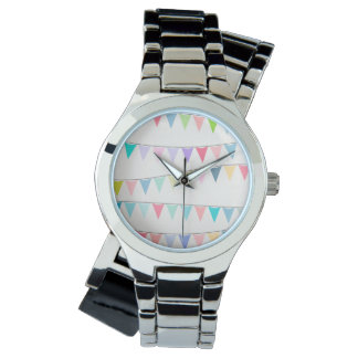Hooliday Women's Wraparound Silver Watch